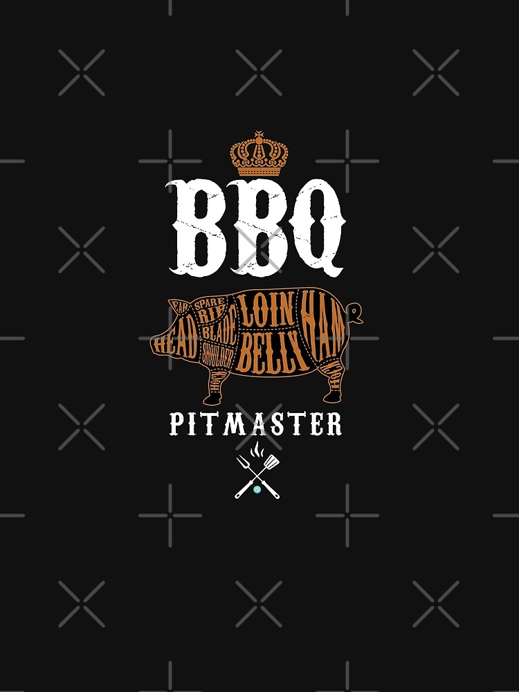 BBQ Pitmaster Shirt by woormle