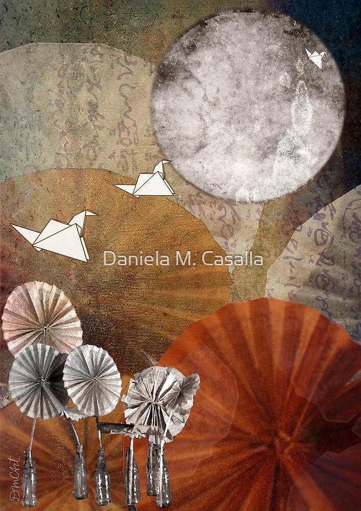 Volar al Oriente by DMCart Daniela M. Casalla