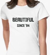 Beautiful Since '94 Childhood Memories Birthday Shirt Women's Fitted T-Shirt