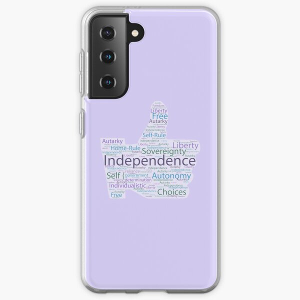 Thumbs Up for Independence Samsung Galaxy Soft Case