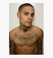 Jay with new skull tattoo Impression photo