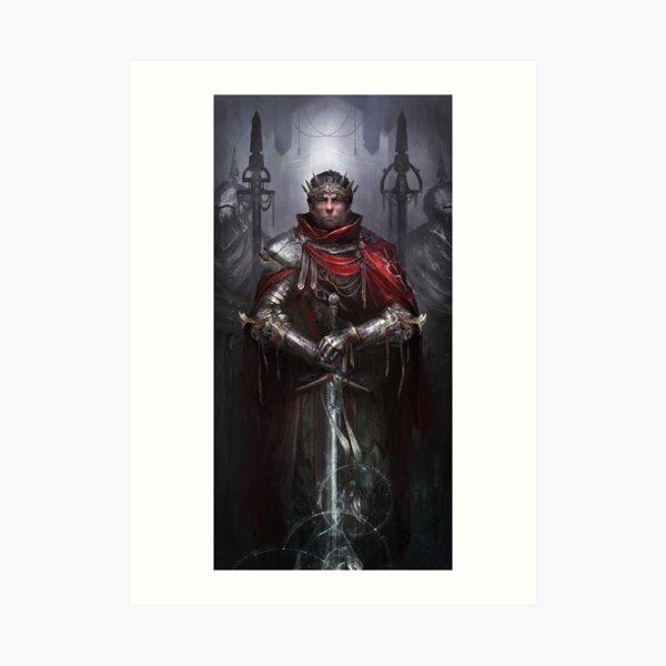 Arthur, King of the Britons Art Print