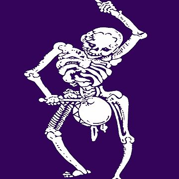 Halloween Skeleton Fun Marching Band Drummer by taiche