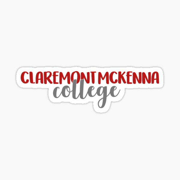 Claremont McKenna College Sticker