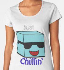 Chillin' Ice Cube Women's Premium T-Shirt