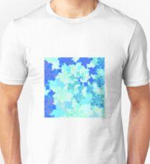 Blue fractal Unisex T-Shirt