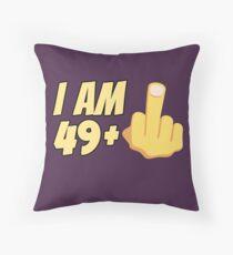 Milestone 50th Birthday - Gag Bday Joke Gift Idea: 49+1 Floor Pillow