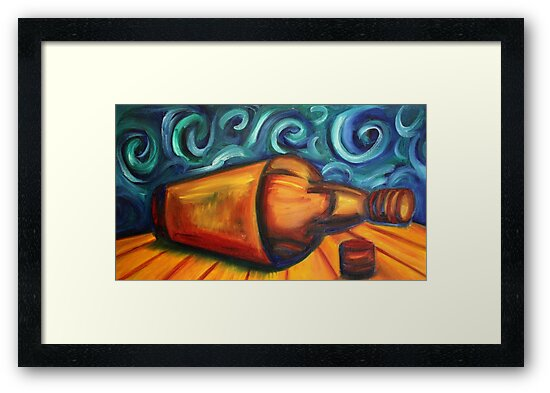 Whisky Framed Print