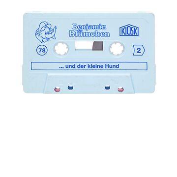 Compact Cassette Retro Old School Tape Recording Player Audio Cassette - Hip Hop Rap DJ Music Lover Fun Gift Idea for Women & Men by legologo