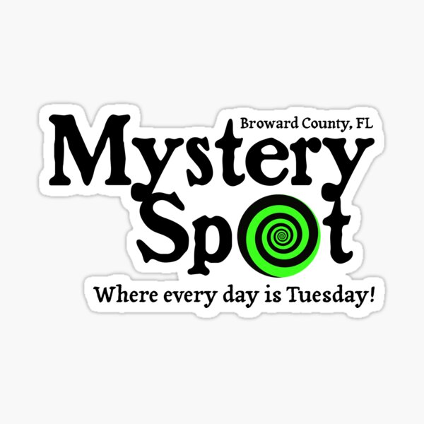 Supernatural - Mystery Spot v2.0 Sticker