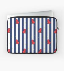 BT21 Tata Striped Pajamas Pattern Laptop Sleeve