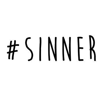 Hashtag Sinner by maiwad