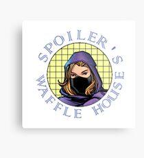 Spoiler's Waffle House Metal Print