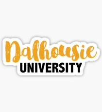 Dalhousie University Sticker