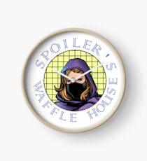 Spoiler's Waffle House Clock