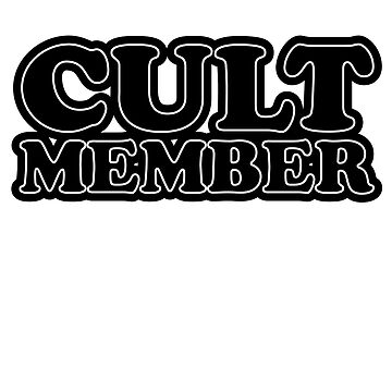 Cult Member - back side by e2productions