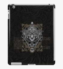 Fall down seven time, Stand up eight iPad Case/Skin