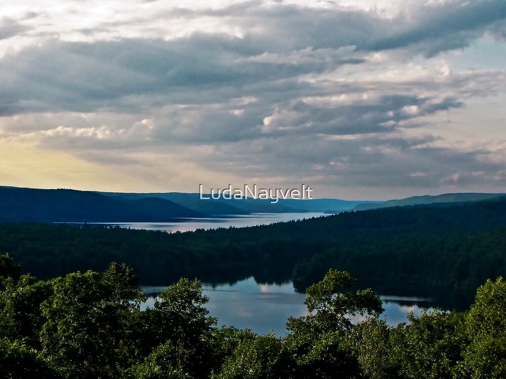 Hills of Quabbin Reservoir by LudaNayvelt