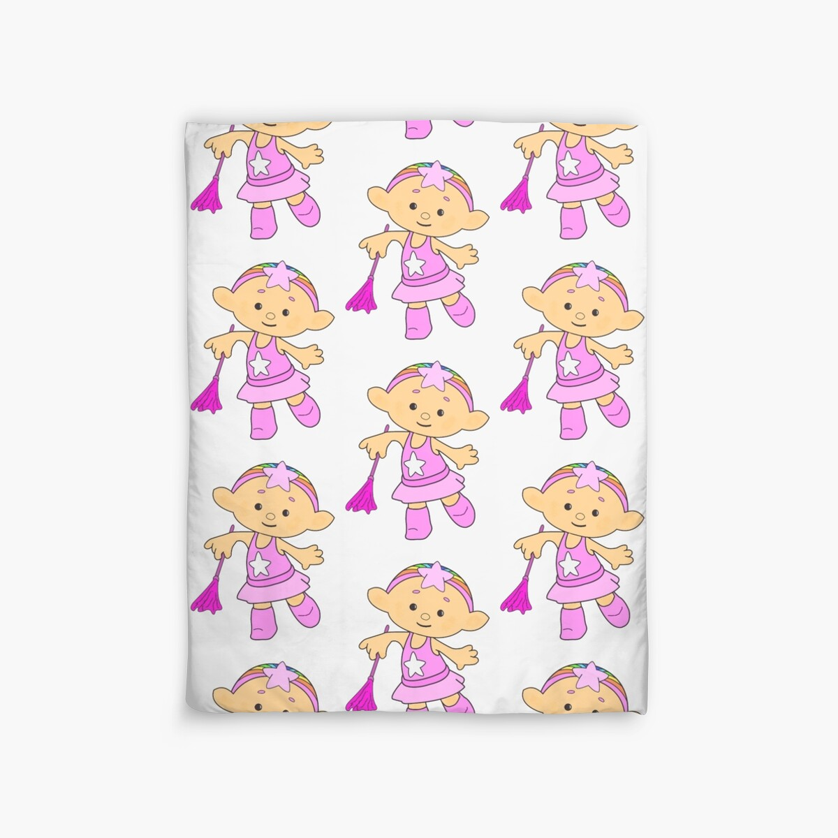 Baba pink cloudbaby duvet covers by jon lees redbubble for Home decor newtownards