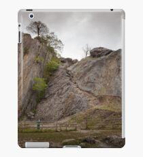 Dinas Rock mountaineering Pontneddfechan iPad Case/Skin