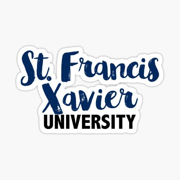 St Francis Xavier University Sticker By Telkin Redbubble