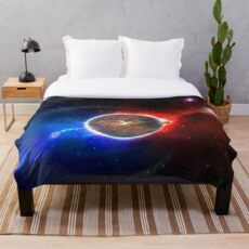 OUTTA THIS WORLD  Throw Blanket