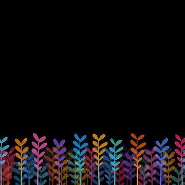 Plants - Black by RikDrawsThings