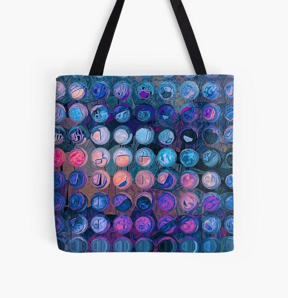 Digital Dreams All Over Print Tote Bag