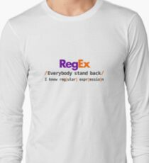 RegEx regular expression Long Sleeve T-Shirt