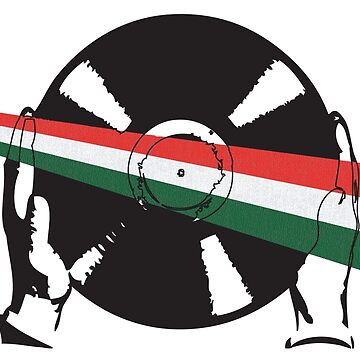 Hungarian Flag Vinyl by McFrys