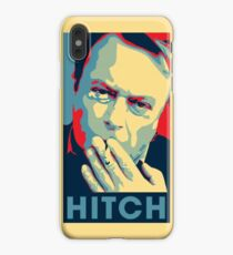 Christopher Hitchens Obama Style Poster iPhone XS Max Case