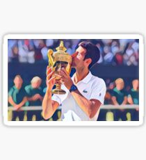 Novak Djokovic Sticker