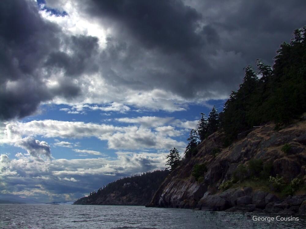 Pender Island B.C.  by George Cousins