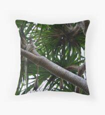 Fraser Island Pandanus Palm Throw Pillow