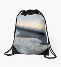 Mid flight  Drawstring Bag
