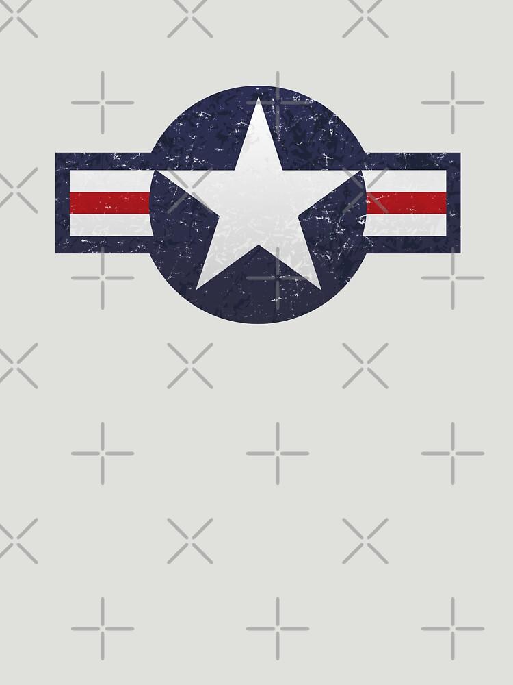 U.S. Military Aviation Star National Roundel Insignia by hobrath