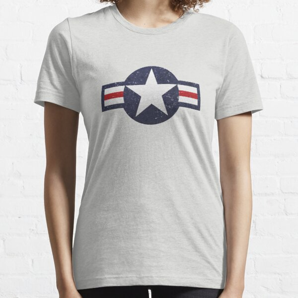 U.S. Military Aviation Star National Roundel Insignia Essential T-Shirt