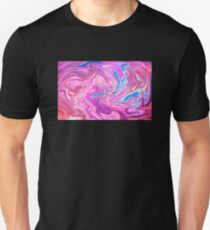 Abstract Multi Color Design Unisex T-Shirt