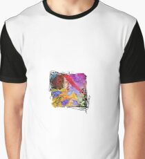 Small Bits Collage Graphic T-Shirt