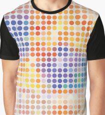 Retro dots pattern Graphic T-Shirt