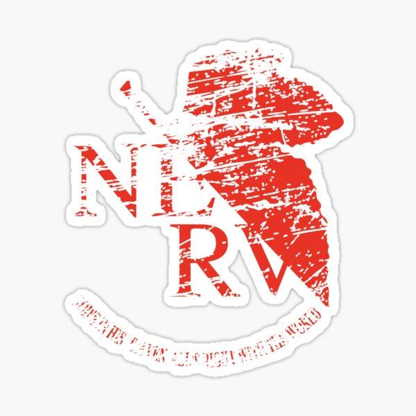 Vintag Nerv logo - Neon Genesis Evangelion Sticker