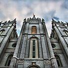Salt Lake Temple by Misti Love