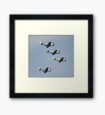 WWII Planes Framed Print