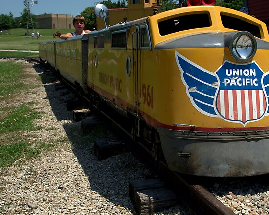Union Pacific # 961 Miniature Rail Road Train by TeeMack