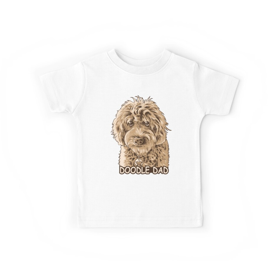 fea42a62 Mens Doodle Dad Goldendoodle Shirt Father's day