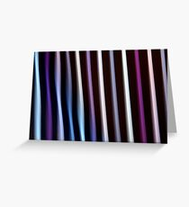Stripes in Motion #2 Greeting Card