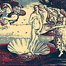 Masterpieces Revisited - The Birth of Venus by Sandro Botticelli by Serge Averbukh