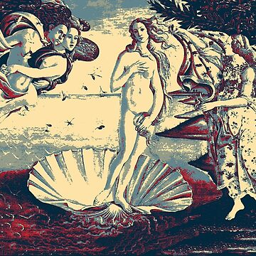 Masterpieces Revisited - The Birth of Venus by Sandro Botticelli by Captain7
