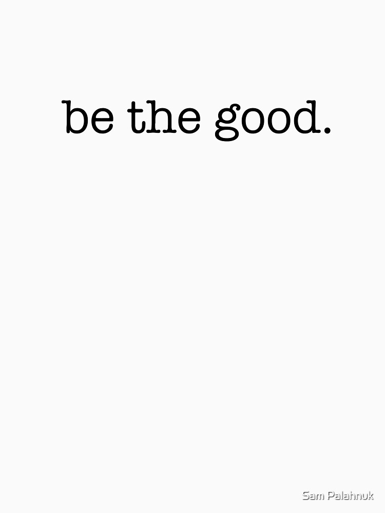 be the good sticker by sampalahnukart