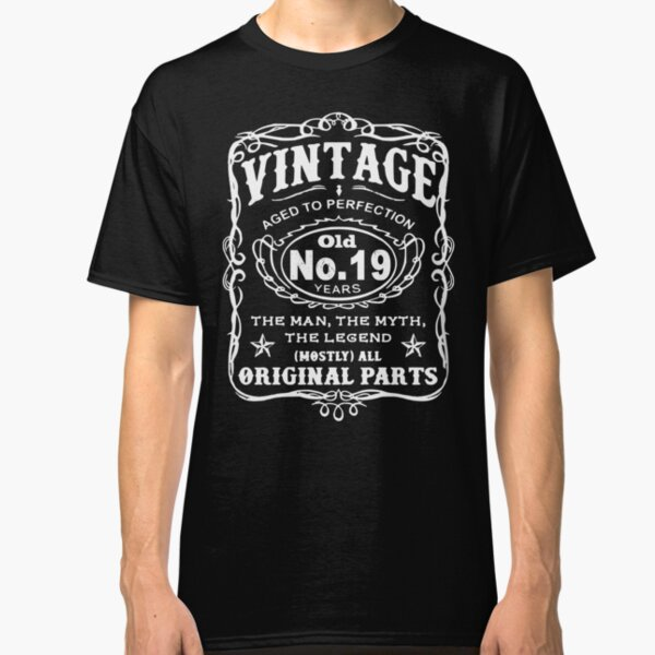 Vintage Aged To Perfection 19 Years Old Classic T-Shirt